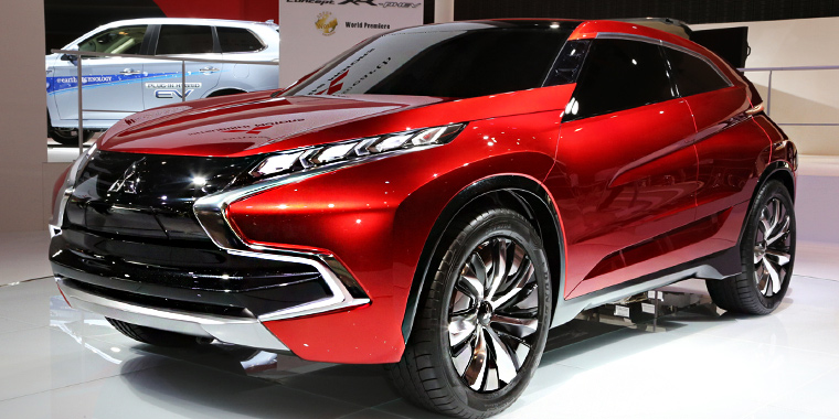Mitsubishi ecological concept XR-PHEV II in Geneva Motor Show 2015 | New cars 2016 - 2017